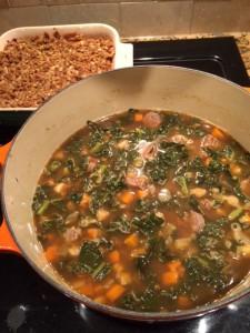 soup and crisp