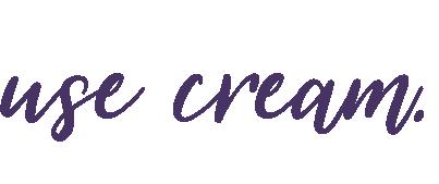 use cream.